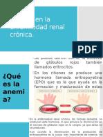 Anemia en La Enfermedad Renal Crónica