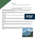 Situaciones climáticas  en Guatemala y regiones naturales de Guatemala.docx
