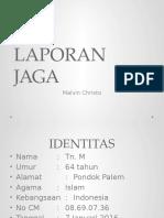 LAPORAN JAGA - Ileus Paralitik.pptx