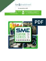 SME Cluster Series 2016 Vadodara