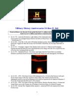 Military History Anniversaries 0716 Thru 073116