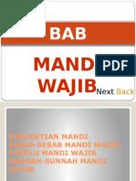 Materi Pesantren Kilat - Bab Mandi Wajib