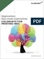 Printing Inks Brochure - 2015
