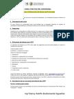 Estructura de Informe de Prácticas Preprofesional 2015 II