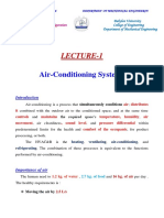 Air conditioning system lecture