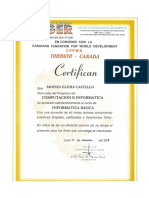Certificado de Microsoft