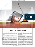Trend Thrust Indicator