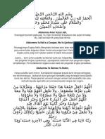 Doa Majlis Periksa