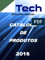 Catálogo O-tech 2016 (Especificações)