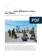 Steve Wilkinson-Army and Nation