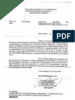 CGR Oficio N°50019 del 06.07.2016 Sobre Ley N° 20.922