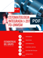 estomatologia integrada i  11 junio al 09 julio  1