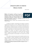 A participação do público nos webjornais Wikinews e Kuro5hin