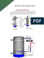 Columnas de Pulverización