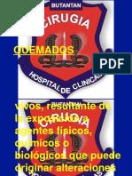 QUEMADOS BUTANTAN