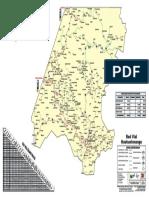 Mapa Huehuetenango2014 CAMINOS