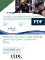 Descripción de Futura ISO 45000