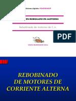 Rebobinado Motores CA