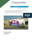 Cotización Planetario Casco de Astronauta