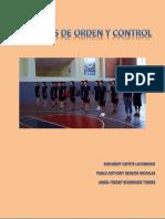 Ejercicios de Orden y Control