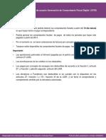 Guia de Usuario Generacion de Comprobante Fiscal CFDI