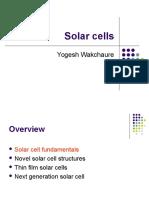 Yogesh Solar Cells