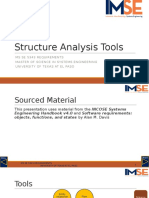 3 Structure Analysis Tools