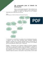 La Metodología Propuesta Para El Diseño de Sistemas de Información