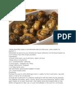 These Roasted Garlic Mushrooms