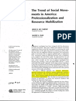 Trends of Social Movements in America - John McCarthy e Mayer Zald