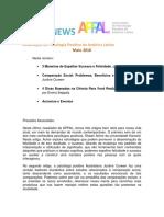 APPAL Newsletter - Maio 2016