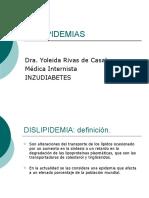 DISLIPIDEMIAS -  DRA. YOLEIDA RIVAS DE CASAL.ppt