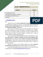 Matematica Financeira e Estatistica p Sefazes Aula 00 Aula Demonstrativa 30911