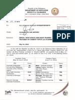 Regional Memorandum No. 159 s.20161