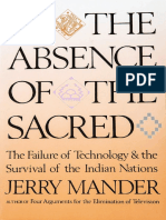 In the Absence of the Technologies- Jerry Mander