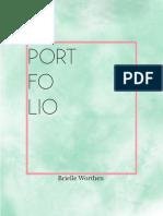 Brielle Worthen Portfolio