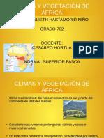 Climas y Vegetacion de Africa