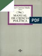 Caminal. Manual de Ciencia Política