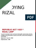 Studying Rizals Childhood