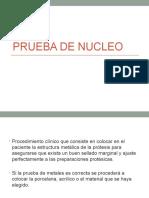 Prueba de Nucleo