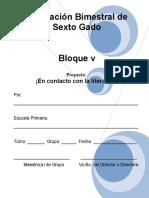 6to Grado - Bloque 5 - Proyecto 3