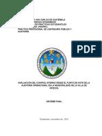 Versión 13 de Octubre Noche - Informe Final Practica Profesional 2015-(SALON 103 ) Revisado