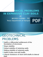 Geotechnical Problems in Expansive Soils