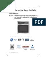 Manual de Cociba GE HGP6065LWAI0