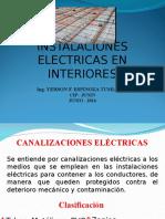 instalaciones en interiores- Entudados y Cajas