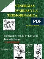Las EERR y Termodinámica Hadzich