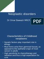 12) Neoplastic Disorders