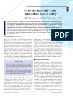 Ecological Theory to Enhance Infectious Disease Control and Public Health Policy