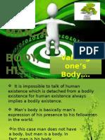 man; a body', his body
