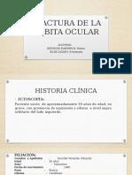 FRACTURA DE LA ORBITA OCULAR.pptx